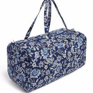 Vera Bradley XL Traveler Duffel Tropics Tapestry